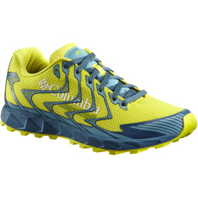 Columbia Rogue F.K.T. II - Chaussures running Homme - jaune/turquoise